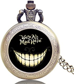 Best cheshire cat pocket watch Reviews