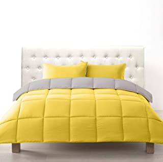 yellow queen comforter set
