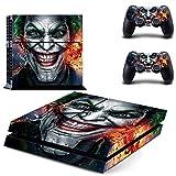 PS4 skin joker vinyl decal cover for Sony...