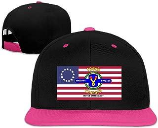 196 Infantry Brigade Vietnam Snapback Hat Hip Hop Baseball Cap