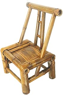 LIUXUEPING Child Seat Front Seat Bicycle Mother And Child Front Seat Stool Bamboo Chair Back Chair Bamboo Stool Handmade Chair