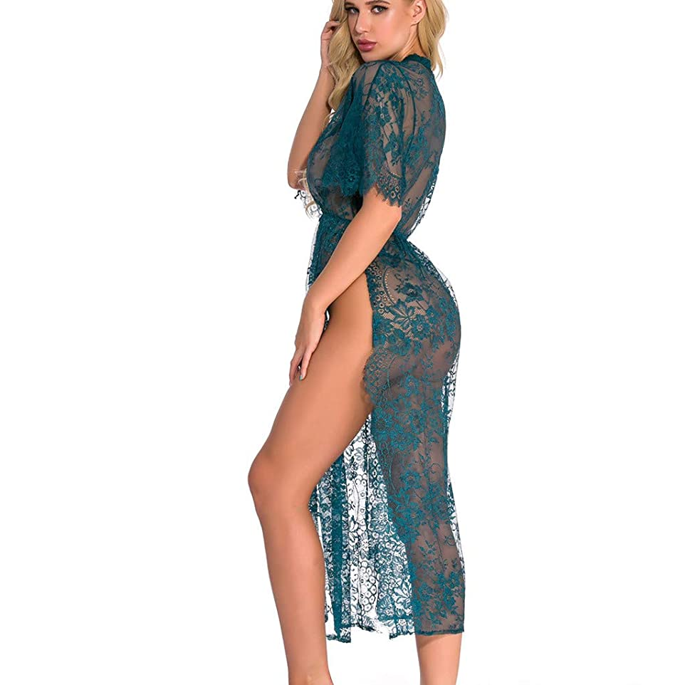 ダーベビルのテス怒って置き場女性セクシーなレースのランジェリーセクシー ベビードール ネグリジェ ナイトウェア Tバック付 誘惑 下着 透ける 過激 シースルー ハーフスリップ インナーウェア パジャマ 背中を可愛らしく 無地 寝間着 部屋着 プレゼント