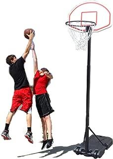Benlet Portable Basketball Hoop Adjustable Height Basketball System Hoop Backboard Rim System(US Stock)