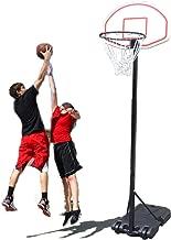 GreenGee Basketball Hoop Portable Adjustable Height(6.8-8.0ft) Mini Basketball Hoop System Mini Basketball Hoop System with 30