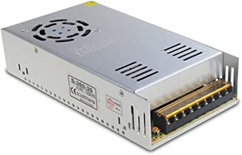 ALITOVE 36V 10A 360W Power Supply Switch Transformer Adapter AC 110V / 220V to DC 36V 10amp Universal Regulated Switching Converter for LED Strip Light CCTV Camera Security System
