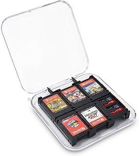 Nintendo Switch ゲームカードケーススイッチ カードケース 12plus2枚収納 薄型 防塵 Switch Switch Lite ゲームカード Micro SDカード 収納 YOSH 持ち運びに便利 透明 ニンテンドースイッチ ...