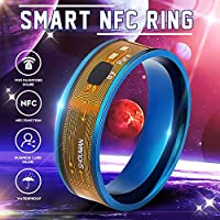 NFC Smart Ring Multifunctional Waterproof Intelligent Magic Smart Wear Finger Digital Ring for Android Windows NFC Mobile