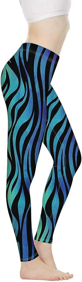 NETILGEN Women Yoga Pants High Waist Tummy Control Sport Leggings for Running Fitness Yoga Soft Stretch Long Leggings
