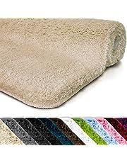 Badmat Sky Uni   Badkamertapijt   Zacht, dicht hoogpolig   antislip & sneldrogend   Geschikt voor vloerverwarming   Vierkant & Rond   vele kleuren & maten