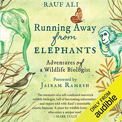 Running Away from Elephants audiobook cover art