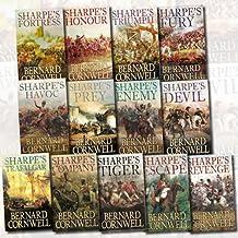 Bernard Cornwell Sharpe Collection 13 Books Set (Sharpe's Escape, Sharpe's Havoc, Sharpe's Prey, Sharpe's Devil, Sharpe's ...
