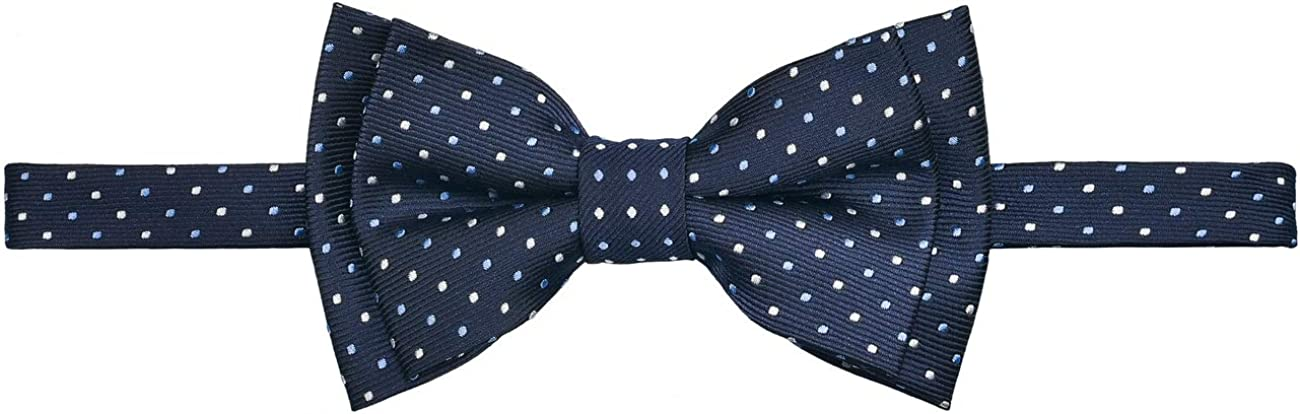 In stock Retreez Dual Color New products, world's highest quality popular! Mini Polka Dots Microfiber Pre-tied Boy Woven