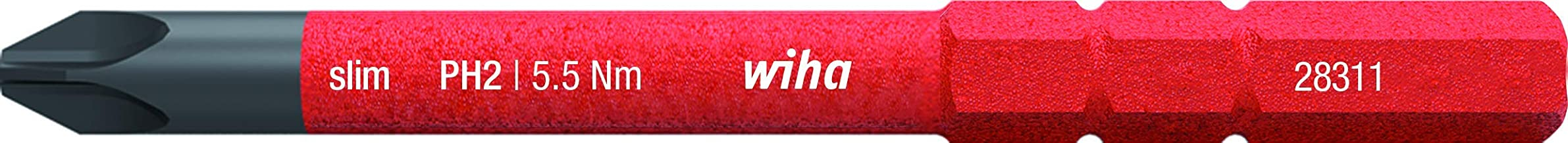 267P02 Destornillador de precisi/ón PicoFinish 267P PicoFinish T2 x 40 mm Ref WIHA 25674