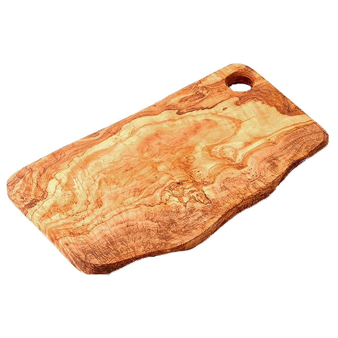 ツイン区別する地質学ナチュラルカッティングボード(まな板) オリーブウッド Arte Legno