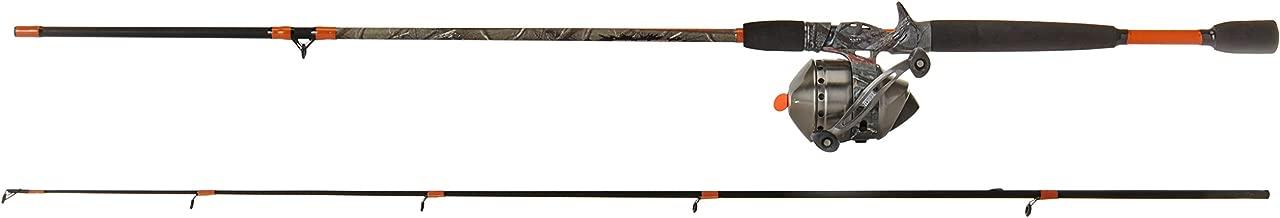 Zebco 33 Max Camo Medium Heavy Spincast Combo (2-Piece), 6.6-Feet