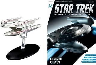 Unbranded Eaglemoss Diecast Star Trek Oberth Class STARSHIP EM-ST0036 & MAGAZINE #36