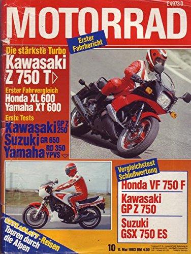 Motorrad Nr. 10/1983 11.05.1983 Die stärkste Turbo Kawasaki Z 750 T