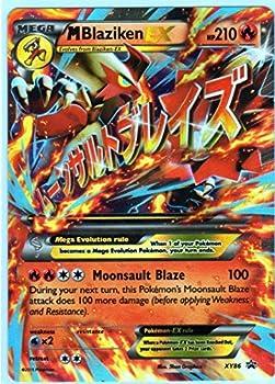 Mega/M Blaziken EX Pokemon Card  Promo #XY-86  Ultra-Rare Holo-Foil