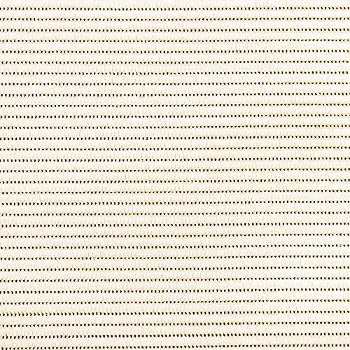 d-c-fix Bodenbelag Breite 130 cm Länge und Farbe wählbar - UNI Beige Einfarbig - ECKIG 130 x 140 bzw. 140x130 cm für Küche, Bad, Garten, Badvorleger …