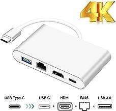 Adaptador USB C a HDMI, HuiHeng Tipo C a HDMI Digital Adaptador de video para Macbook Google Chromebook Samsung S8 / S8 plus, Plug & Play