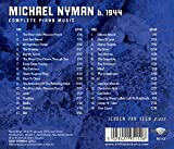 Immagine 2 michael nyman complete piano music