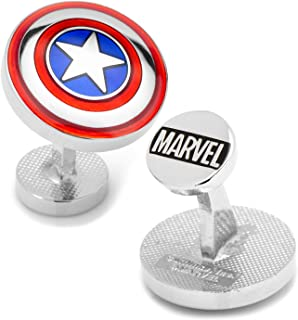 Avengers Captain America Shield Cufflinks