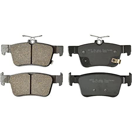 INEEDUP FA185 FA367 Front and Rear Kevlar Carbon Brake Pads Fit for 2006-2012 for Aprilia RXV450 2012 for Aprilia MXV450