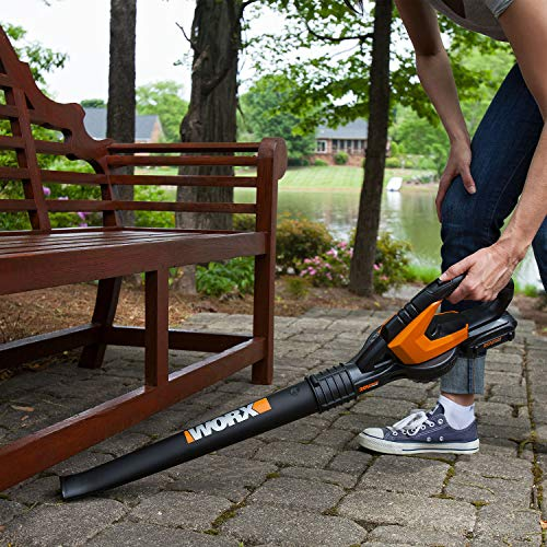 WORX WG545.6 20V 2.0Ah Cordless AIR Leaf Blower Battery and Charger Included