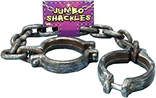 Forum Novelties Jumbo Shackles, Multicolored
