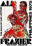 Ali - Frazier - Thrilla in Manila - Philippines - 1975 - Fight Poster