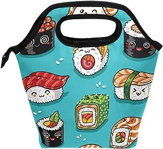 Adorable sac à déjeuner isotherme japonais, réutilisable, durable, avec fermeture éclair, pour l'école, les voyages, les p...