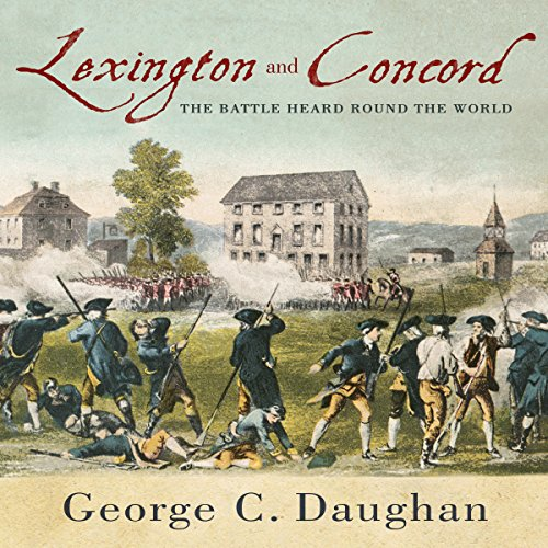 Lexington and Concord audiobook cover art