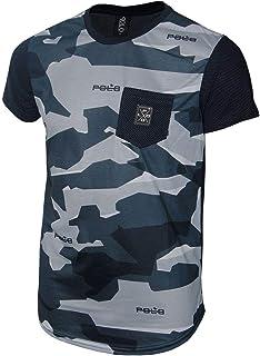 Camiseta Careca Juvenil Camuflada