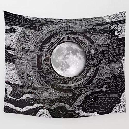 KBIASD Paño de Pared de Estilo nórdico Astronauta Astronauta Fondo de Pared Pintura Decorativa Tapiz decoración de la Pared Toalla de división Cubierta de Mesa 150x100cm