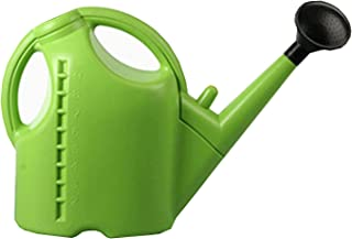 Auchen Watering Can Plastic Plant Spray Kettle Garden Accessory Sprayers 10L Large Green Sprinkle Pot for Plants Outdoor Gardens
