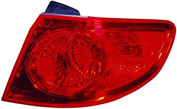 OE Replacement Hyundai Santa Fe Passenger Side Taillight Assembly Outer (Partslink Number HY2805110)