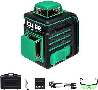 Sponsored Ad – ADA Cube 2-360 Green - Crossline Self-Leveling Green Beam Laser Level Kit in a Hard Case, 65ft Range (230ft...