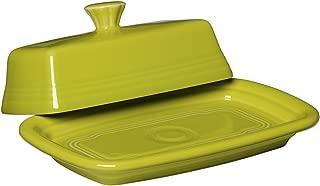 Fiesta Covered Butter Dish, X-Large, Lemongrass