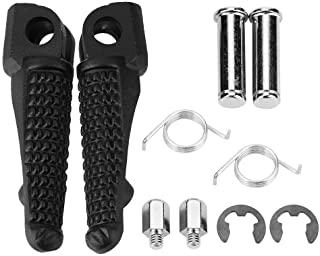 Cuque Footrest 1Pair Motorcycle Front Foot Pegs Footrest for Kawasaki ZX-6R ZX-7R ZX-9R ZX-10R ZX-12R Z1000