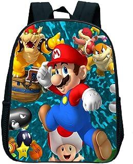 Mochila Super Mario 12inch Juego Super Mario Smash Bros Niños Mochila Bolsa Jardín Infantil Niñas Niños Regalos Lindo Dibujos Animados Niños Bolsas De La Escuela