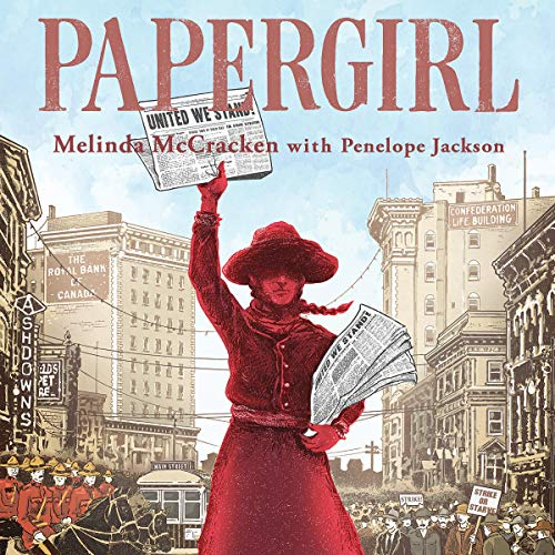 Papergirl audiobook cover art