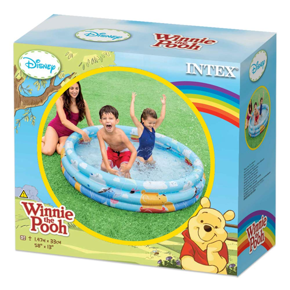 Intex 58915NP - Piscina hinchable Winnie 3 aros 147 x 33 cm, 288 ...