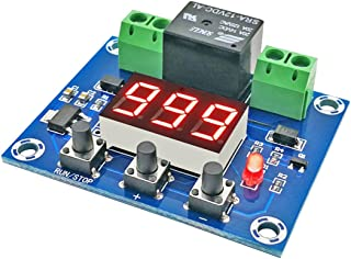 NOYITO 12V Countdown Off Control Module Timer Module 0-999 Minutes One-button Start Stop Power-off Memory 10A Load
