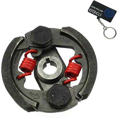 Pocketbike Kupplung Tuning Renn Version Für 49ccm Pocketbike Dirtbike Atv Quad Mini Cross Fliehkraftkupplung 2 Backen Auto