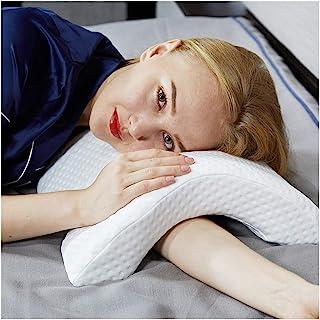 GMtes Almohada de Espuma viscoelástica con Orificio para el Brazo, Almohadilla de Escritorio adormecida Anti-Siesta Almohada para Dormir Multifunción Health Neck Couple Pillow 2019 Patente,1Pack