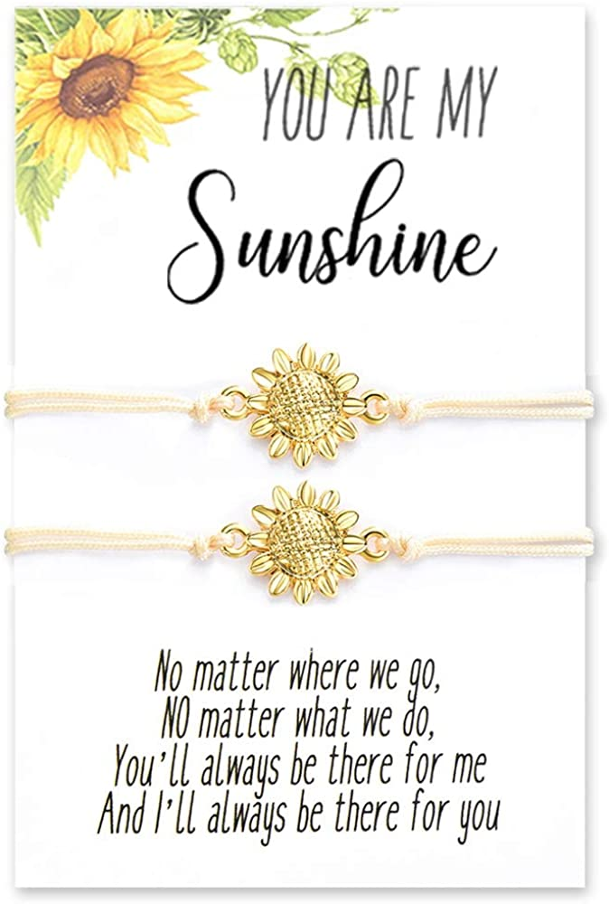 Tarsus You are My Sunshine Sunflowers Bracelet/Earrings/Necklace