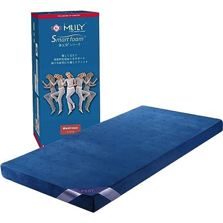 【MLILYエムリリー】ベッドマットレス 優反発&高反発の二層構造 シングル 厚さ11cm