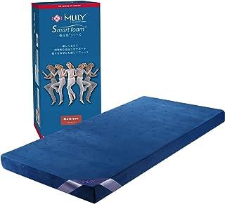 【MLILYエムリリー】ベッドマットレス 優反発&高反発の二層構造 セミダブル 厚さ11cm
