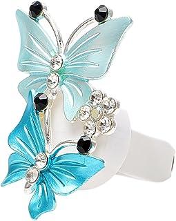 iTimo Kfz Lufterfrischer, Schmetterlingsdesign, natürlicher Geruch, Blau