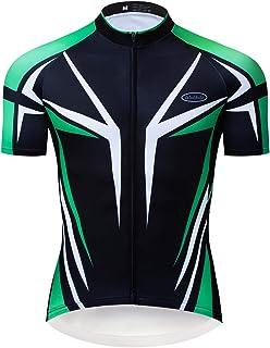 a74fae57f811 logas Completo Ciclismo Uomo Estivo Maglia Ciclismo Maniche Corte Squadra  Professionale Abbigliamento Ciclismo Uomo MTB